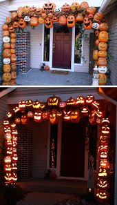 diy halloween decorations home. Diy Halloween Home Decor Foam Pumpkins Ideas Archway On Haunted For Decorations A