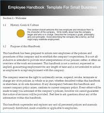 Free Employee Handbook Template For Small Business Quiz