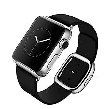 apple watch band modern buckle watch band with magnetic design genuine leather replacement strap for