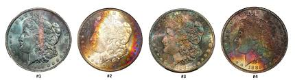 How To Distinguish Between Artificially & <b>Naturally</b> Toned Coins ...