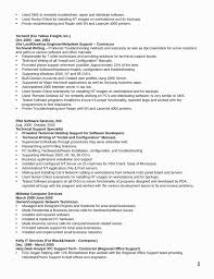 Technical Support Specialist Resume Unique Best Ideas Of Technical