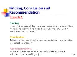 Conclusions and Recommendations   Mathematics Learning in Early