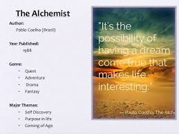 "thinkers alchemy using ""the alchemist"" to stimulate critical think  the alchemist author"