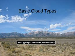 Types Of Clouds Ppt Ppt Basic Cloud Types Powerpoint Presentation Id 240379