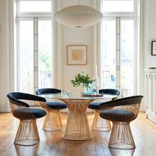 ... Platner Dining Table in Gold. 1