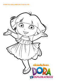 Coloriage De Dora Gratuit L L L L L L L L L L L