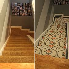 Replacing carpet on stairs with wood Refinish Messymomclub Update Your Staircase How To Remove And Install Carpet On The Stairs