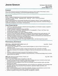 Sample Of Resume For Electrical Engineer Unique Resume For