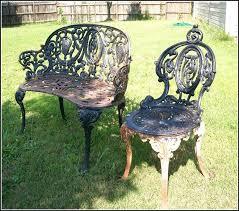 Antique Wrought Iron Patio Furniture – Coredesign Interiors