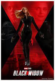 Black Widow Poster on Behance