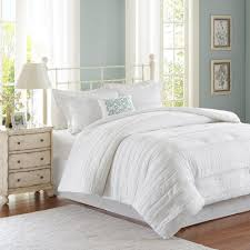 madison park isabella 5 piece white california king comforter set mp10 2529 the home depot