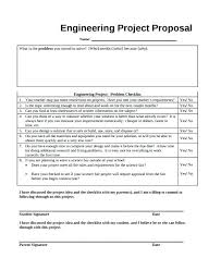 Science Fair Templates Science Fair Project Template Pdf Engineering Proposal Template Free