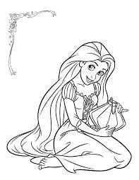 Rapunzel Sprookjes Kleurplaten Disney Princess Colors