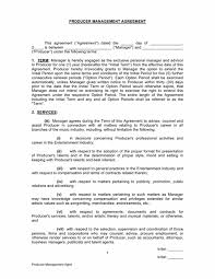 music management contract music contract templates