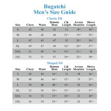 30 Problem Solving Bugatchi Shaped Fit Sizing Chart