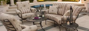 Woodard Terrace Wrought Iron Collection