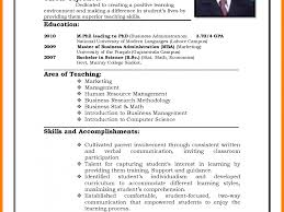 Resume M Phil Computer Science Resume Examples Sample Resume For