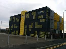 shipping container office building rhode. cargo container office shipping building green living recycle rhode