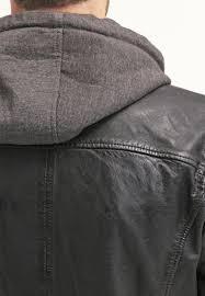 men jackets oakwood sporty leather jacket black oakwood aloe vera coat conditioner