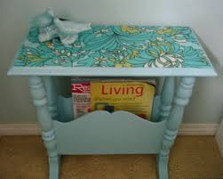 decoupage ideas for furniture. a magazine table redo decoupage tabledecoupage furnituredecoupage ideasfurniture ideas for furniture