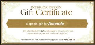 certificate of interior design. Modren Certificate Online Gift Certificate Home Design Intended Certificate Of Interior Design R