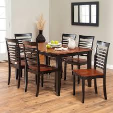 Boraam Bloomington Dining Table Set - Black/Cherry | Hayneedle