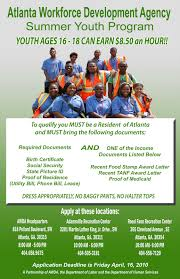 Jobs for teens in atlanta