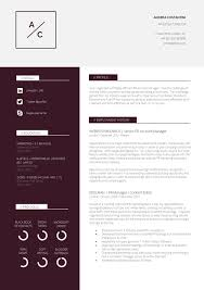 Two Column Resume Template Word Free Best Of Slick Professional