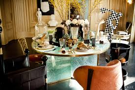 Kelly Wearstler Eclectic Company Kelly Wearstlersets A Chic Table Vogue
