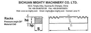 Cnc Rack And Pinion Gears High Quality Cheap Custom Size Pom