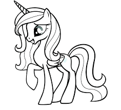 My Little Ponies Coloring Pages Pony A My Little My Little Ponies