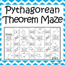Collection Of Math Worksheets On The Pythagorean Theorem | Download ...
