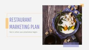 Food Presentation Template Restaurant Marketing Plan Free Presentation Template For