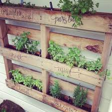 how to make an herb garden. Modren Herb How To Make A Vertical Pallet Herb Garden  Just Need To Make Sure You Get For An