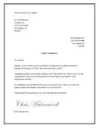Resign Letter Format In Word Sample Resignation Letter Template Word Tata Letter Sample
