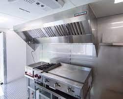 concession trailer hood system
