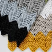 Double Crochet Chevron Pattern Delectable Crochet Chevron Blanket Pattern Craftgawker