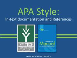 Ppt Apa Style Powerpoint Presentation Id4880727
