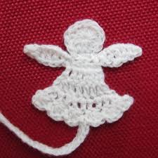 Anleitung Für Einen Gehäkelten Engel Weihnachten Crochet