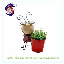 Ladybug Garden Lights Hot Item Exquisite Ladybug Pot Led Solar Lights For Indoor Outdoor Ornament