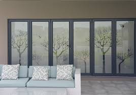 privacy and shatterproof safety glass doors