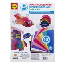 Alex Toys Artist Studio Construction Paper 240 Sheets Alexbrands Com