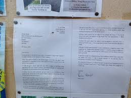 another resignation at west hunsbury parish council this time brian hoare s resignation letter