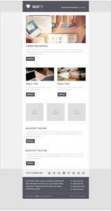 email newsletter templates psd css author gusto email template psd