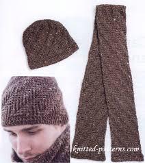 Free Mens Crochet Scarf Pattern