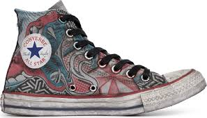Chuck Taylor All Star Canvas Snake Tattoo 164519c