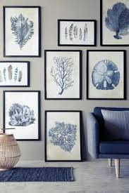 styling marie graunb l photography line thit klein lovely blue and white artwall with black frames on black white blue wall art with inhale exhale print yoga wall art wall prints inhale exhale