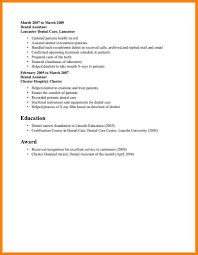 6 Orthodontic Assistant Resume Address Example