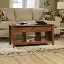 sauder dakota pass lift top coffee table craftsman oak finish com