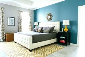 Bedroom One Wall Different Color Painting Bedroom Walls Two Different Colors  Master Bedroom Reveal With Minted Design Improvised Painting Walls  Different ...